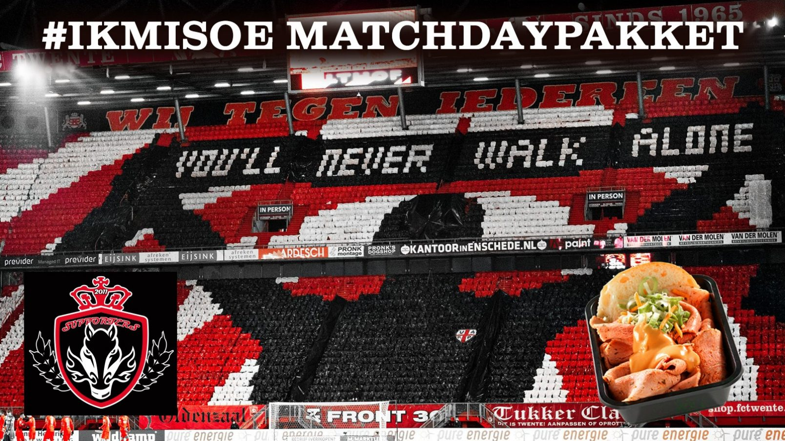 #IKMISOE matchdaypakket voor alle leden